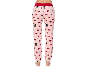 COZY TIME PLUSH PANT PINK