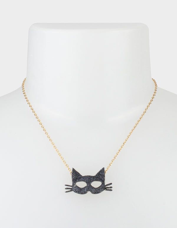 CREEP IT REAL CAT MASK SET BLACK - JEWELRY - Betsey Johnson