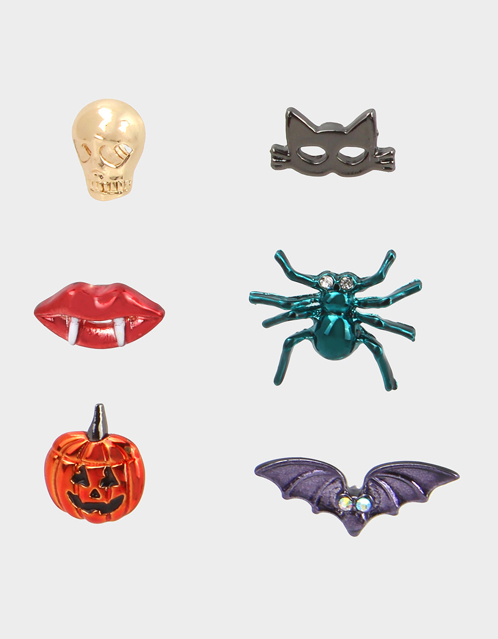 Creep It Real Halloween Stud Earrings Collection at Betsey Johnson