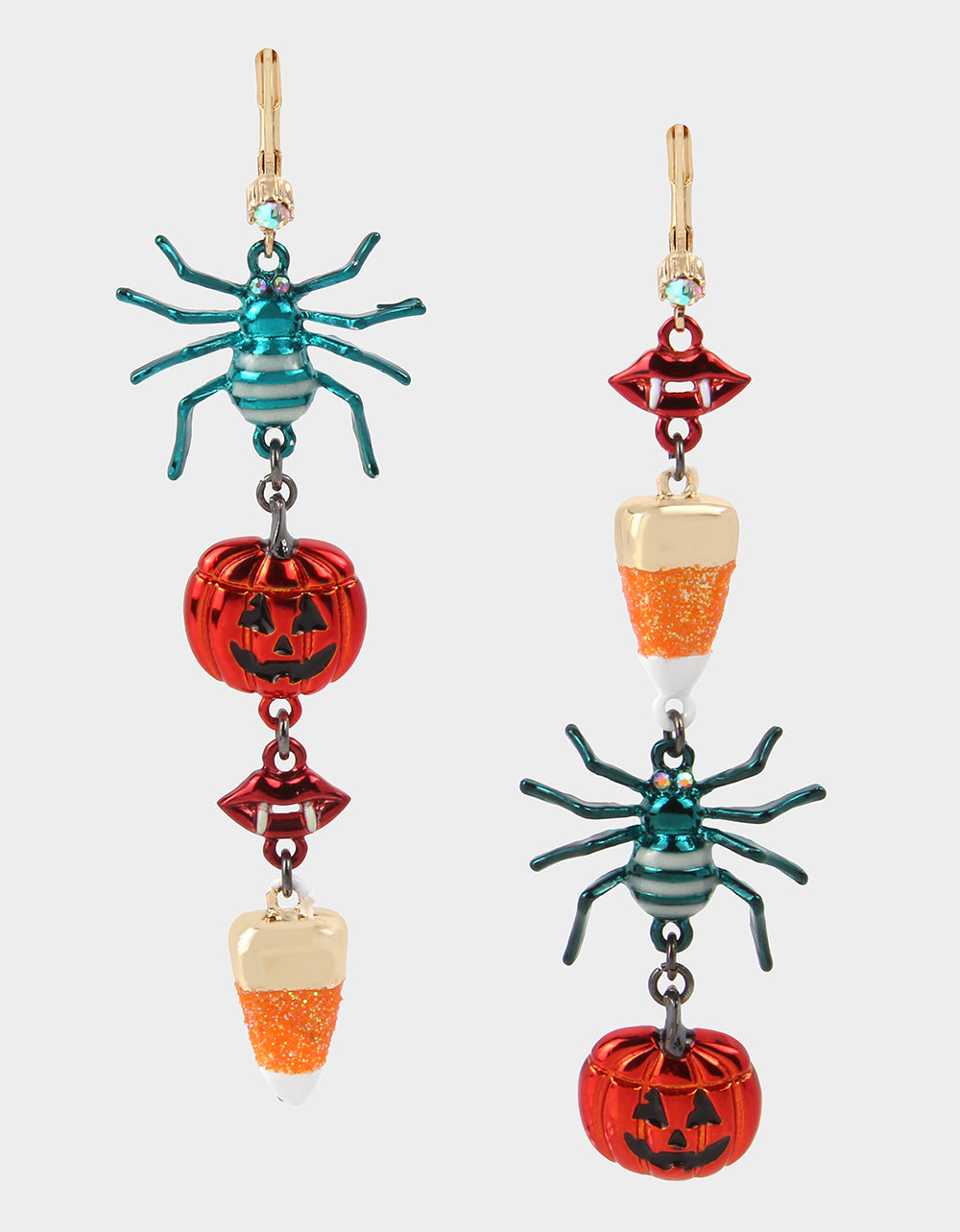 Colorful Creep It Real Dangle Earrings Collection makes a Scream at Betsey Johnson