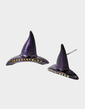 CREEP IT REAL WITCHY STUDS PURPLE - JEWELRY - Betsey Johnson