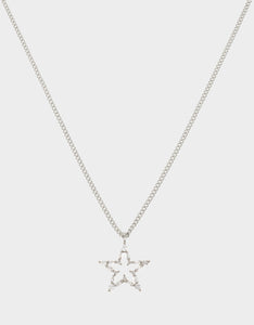 CRYSTAL CUTIES STAR PENDANT CRYSTAL