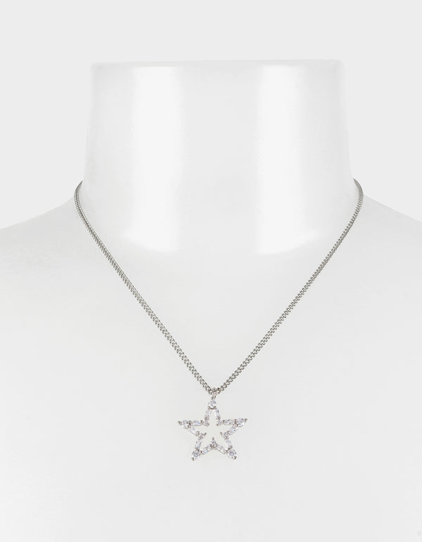 CRYSTAL CUTIES STAR PENDANT CRYSTAL - JEWELRY - Betsey Johnson