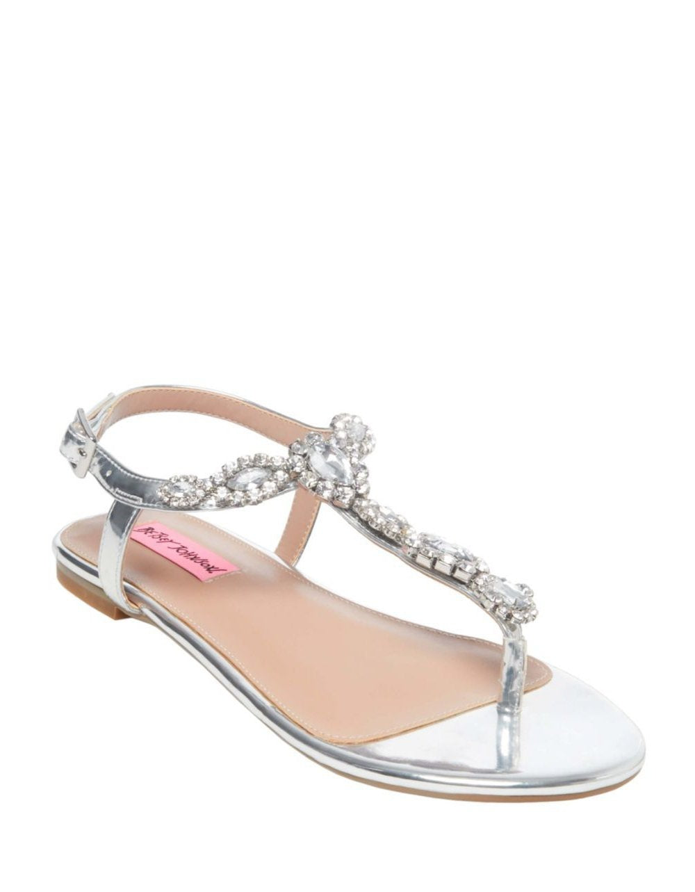 CRYSTAL SILVER - SHOES - Betsey Johnson
