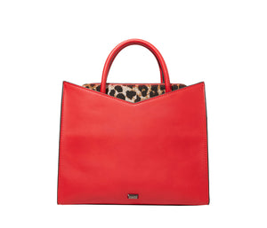 CUTTING EDGE BOW SATCHEL RED