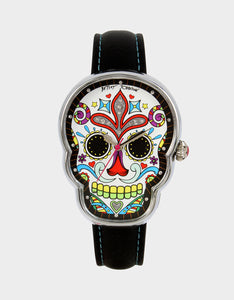 DAY OF THE DEAD WATCH BLACK