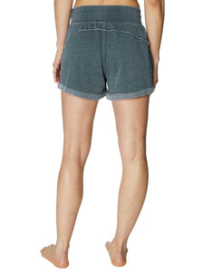 DISTRESSED ROLL HEM SHORT MILITARY