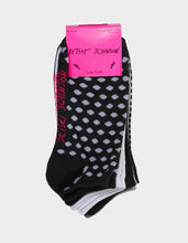 DOTS AWAY LOWCUT SIX PACK BLACK MULTI - ACCESSORIES - Betsey Johnson