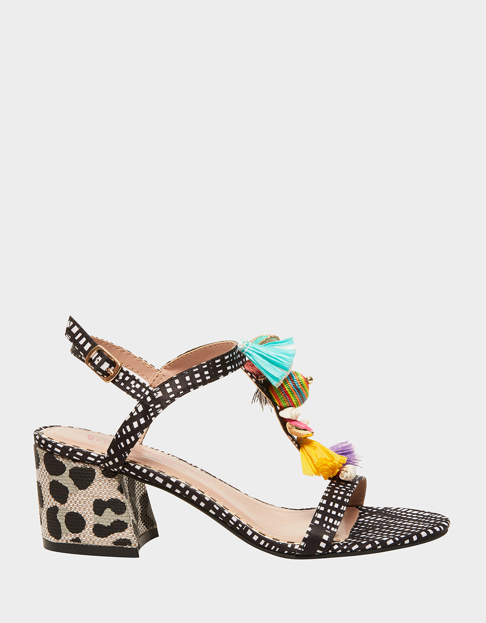 DYNAH BLACK/WHITE - SHOES - Betsey Johnson