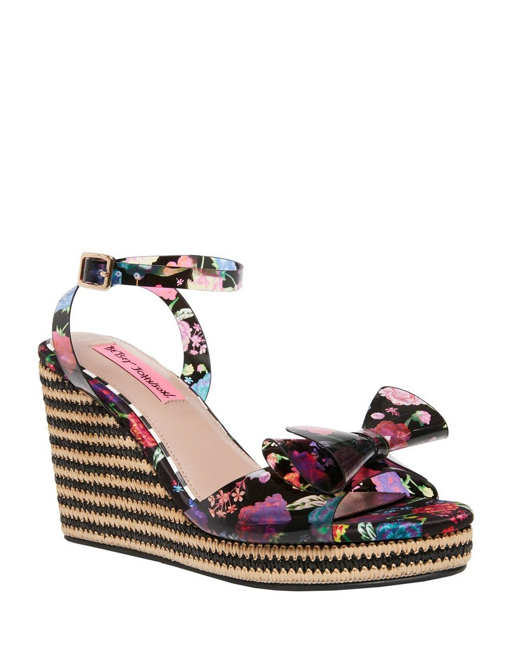 ELEKTRA BLACK MULTI - SHOES - Betsey Johnson