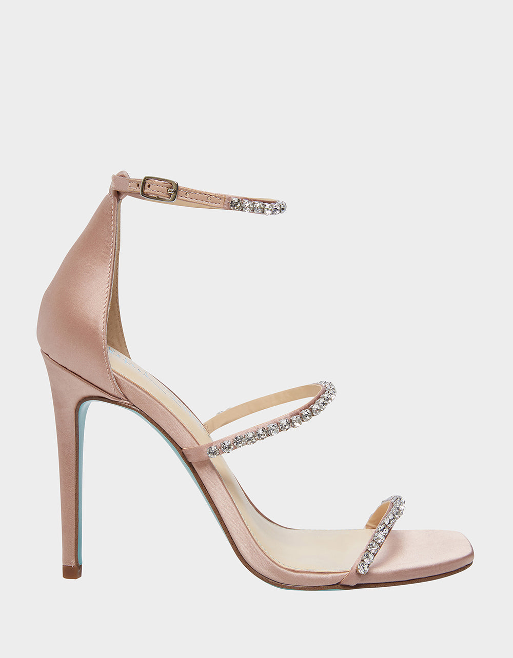 SB-ELISA NUDE SATIN - SHOES - Betsey Johnson