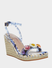 ELLI BLUE MULTI - SHOES - Betsey Johnson