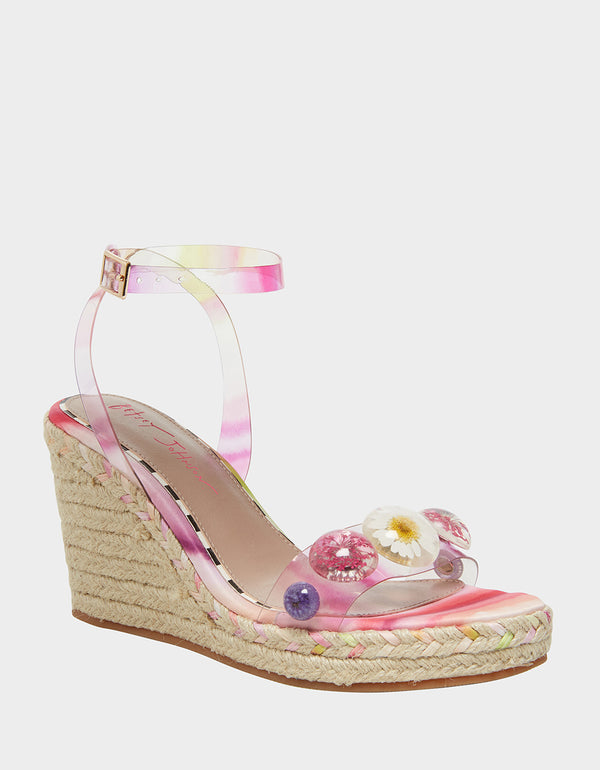 ELLI PINK MULTI - SHOES - Betsey Johnson
