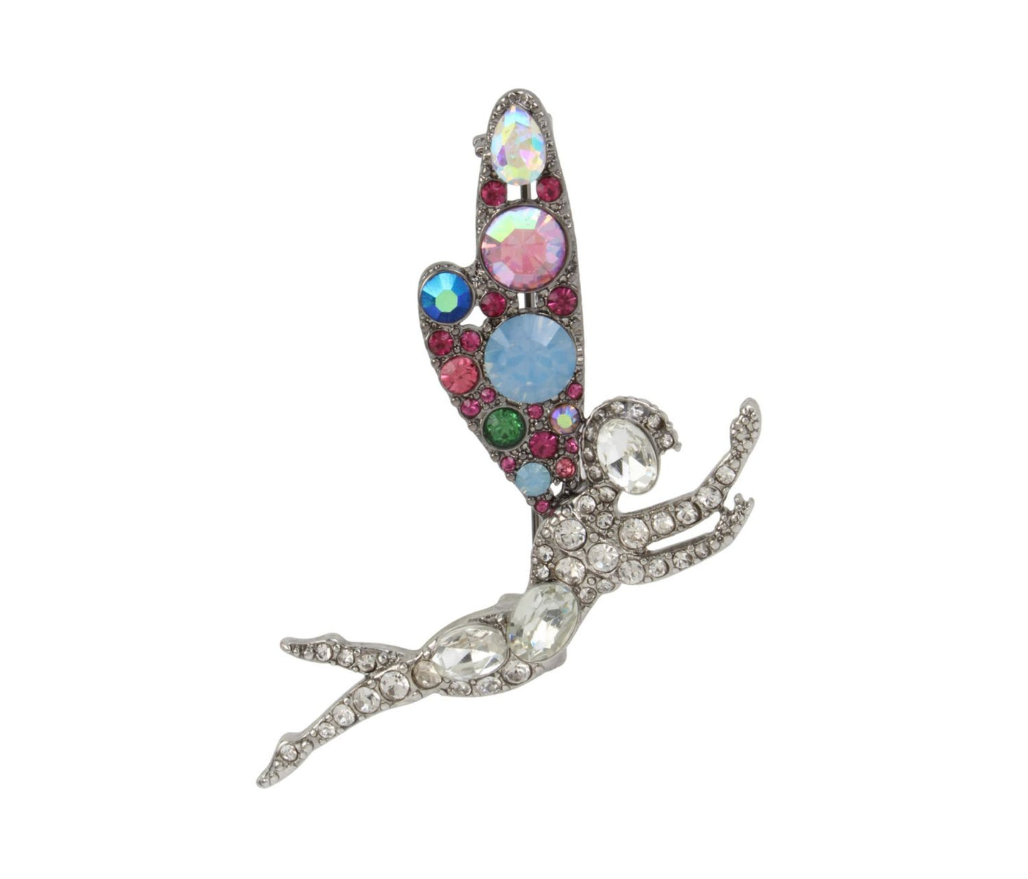 FAIRYTALE DREAMS FAIRY PIN MULTI - JEWELRY - Betsey Johnson
