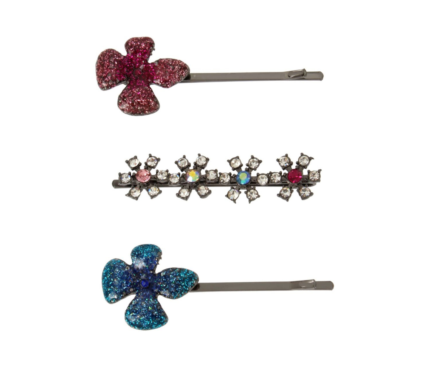FAIRYTALE DREAMS HAIR PIN SET MULTI - JEWELRY - Betsey Johnson
