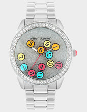FALLING THROUGH TIME WATCH SILVER - JEWELRY - Betsey Johnson