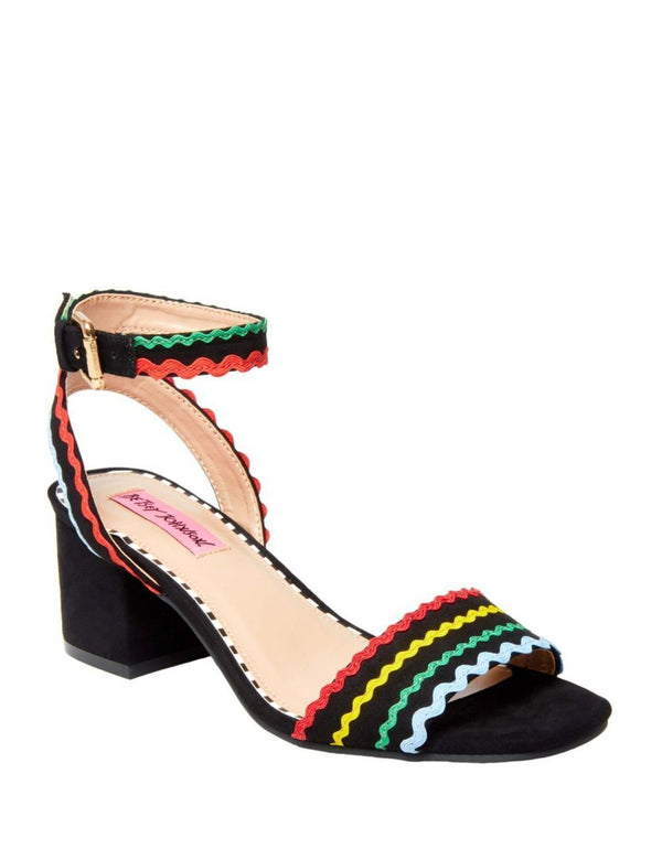 FARRAH BLACK MULTI - SHOES - Betsey Johnson