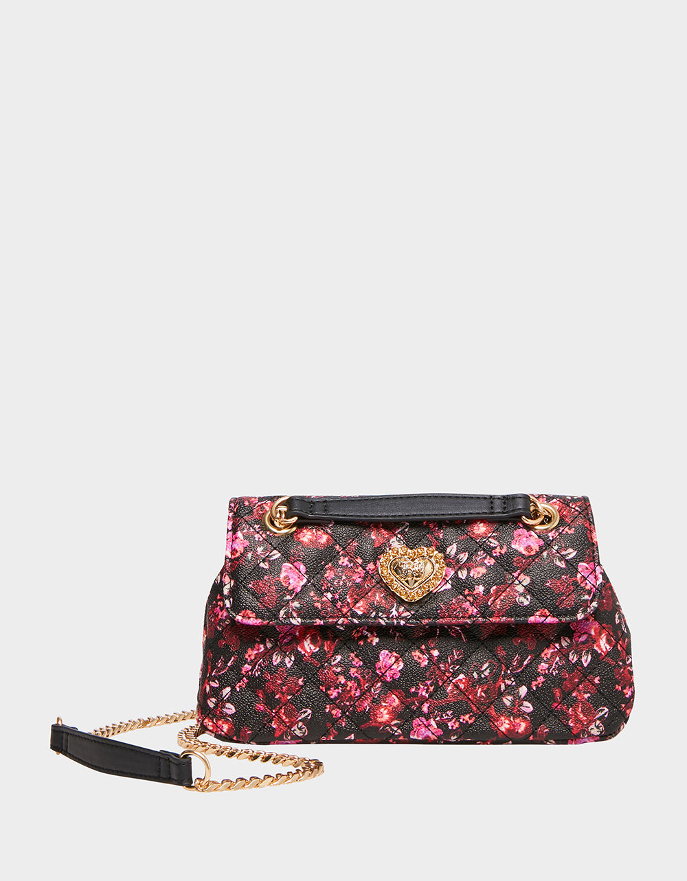FEELING DIZZY QUILTED CROSSBODY FLORAL