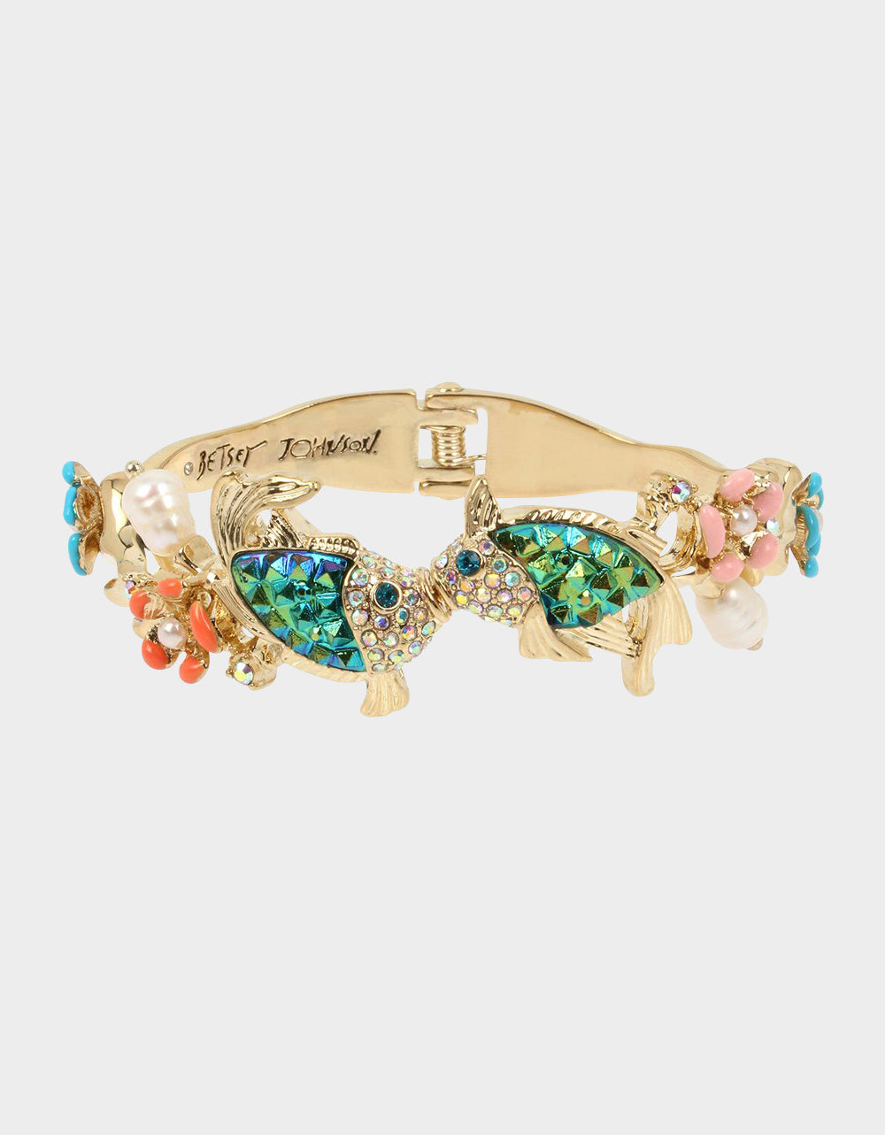 FESTIVAL MERMAID FISH BANGLE MULTI - JEWELRY - Betsey Johnson