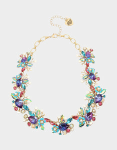 FESTIVAL MERMAID STATEMENT COLLAR MULTI