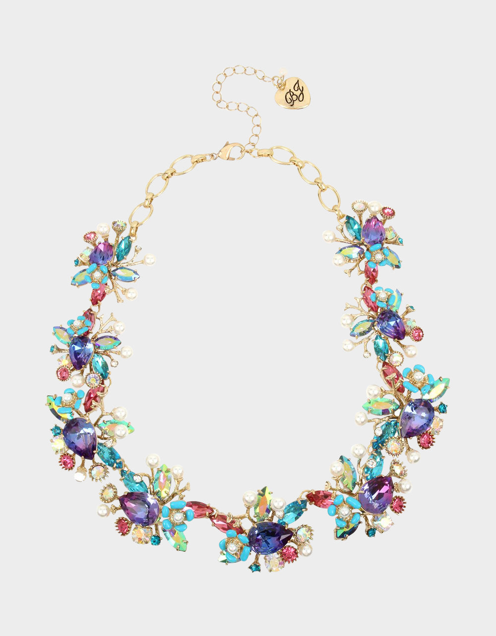 FESTIVAL MERMAID STATEMENT COLLAR MULTI - JEWELRY - Betsey Johnson