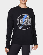 FLASHBACK FAVORITE SWEATSHIRT BLACK - APPAREL - Betsey Johnson