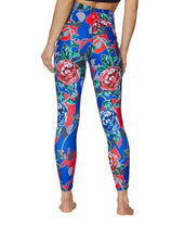 FLORAL VINE LEGGINGS FLORAL - APPAREL - Betsey Johnson