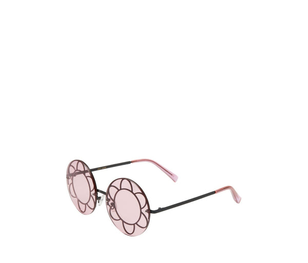 FLOWER POWER SUNGLASSES BLACK - ACCESSORIES - Betsey Johnson