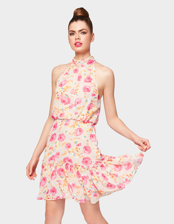 FOR THE FRILL OF IT DRESS MULTI - APPAREL - Betsey Johnson