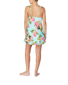 FOR THE FRILL OF IT SLINKY SLIP FLORAL