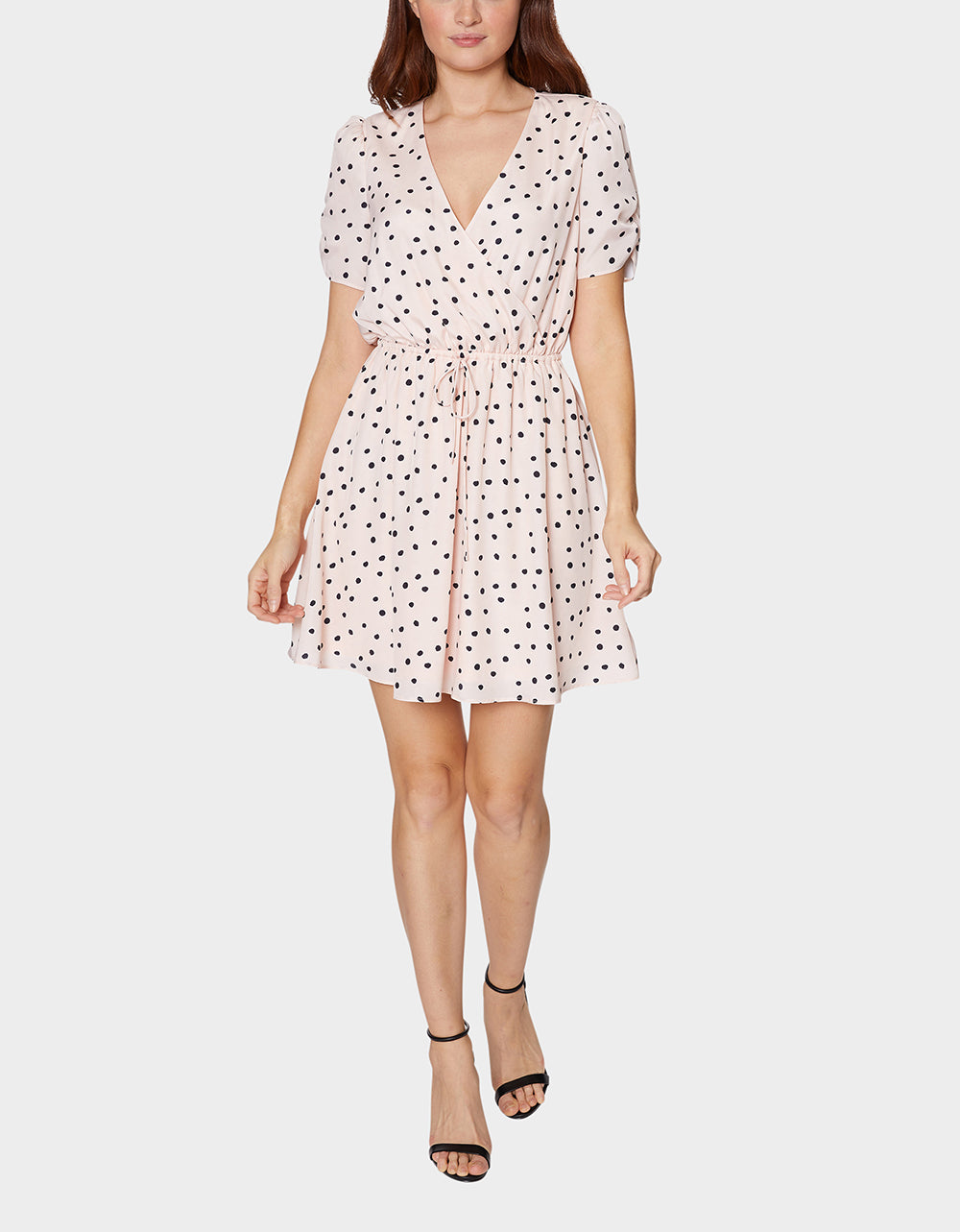 OUT AND ABOUT DRESS BLUSH MULTI - APPAREL - Betsey Johnson