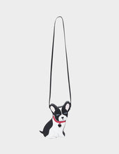 FUR-GEDABOUTIT CROSSBODY BLACK-WHITE - HANDBAGS - Betsey Johnson