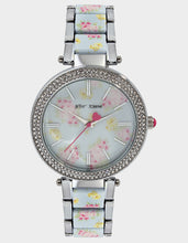 GARDEN VIBES WATCH SILVER - JEWELRY - Betsey Johnson