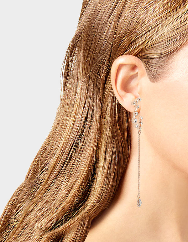 GET YOUR WINGS CONSTELLATION EARRINGS CRYSTAL - JEWELRY - Betsey Johnson