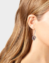 GET YOUR WINGS HEART HOOK EARRINGS BLUSH - JEWELRY - Betsey Johnson