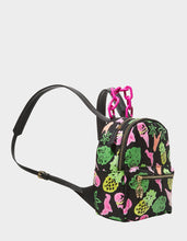 GETTING FRUITY SMALL BACKPACK BLACK MULTI - HANDBAGS - Betsey Johnson