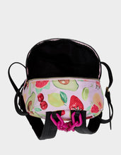 GETTING FRUITY SMALL BACKPACK PINK MULTI - HANDBAGS - Betsey Johnson