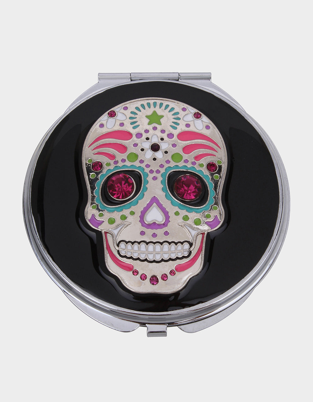 GIFTY BETSEY SKULL COMPACT MULTI - ACCESSORIES - Betsey Johnson