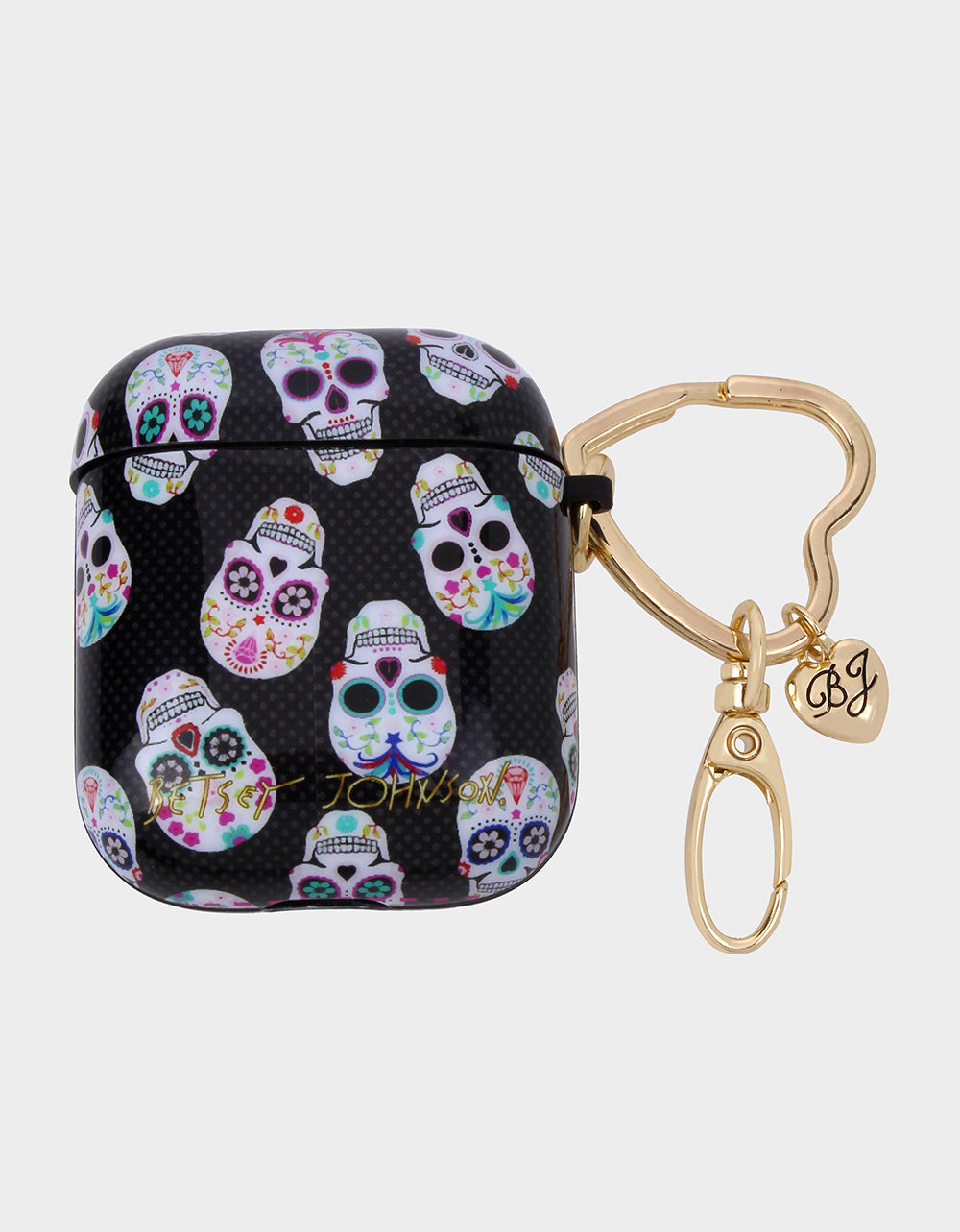 GIFTY BETSEY SKULLS AIRPOD CASE MULTI - ACCESSORIES - Betsey Johnson