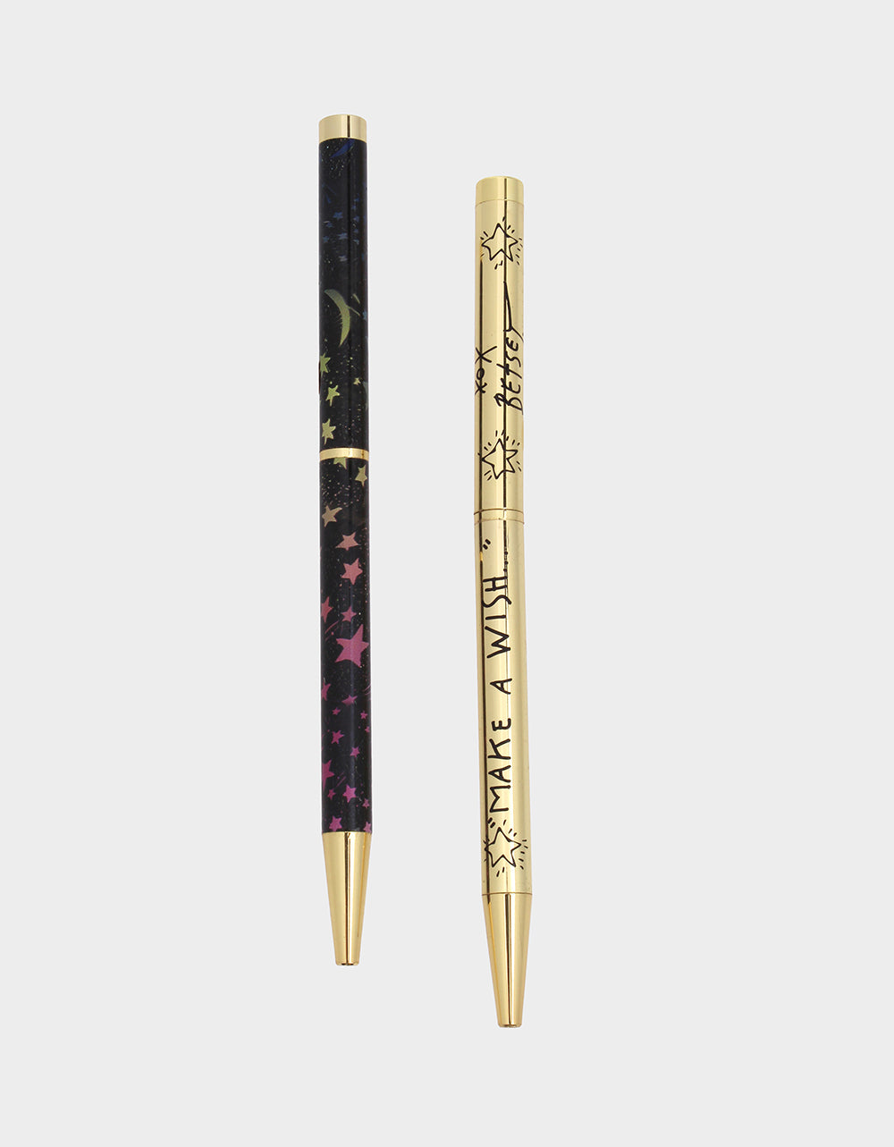 GIFTY BETSEY STARS PEN SET MULTI - ACCESSORIES - Betsey Johnson