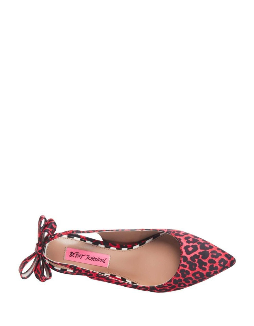db9ce48b4b3 ... GINJER BLACK-RED LEATHER - SHOES - Betsey Johnson