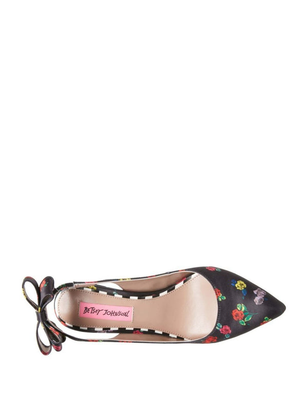 GINJER FLOWER MULTI - SHOES - Betsey Johnson