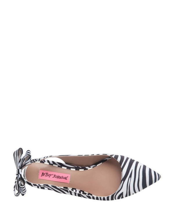 GINJER ZEBRA - SHOES - Betsey Johnson