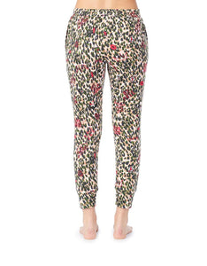 GIRL POWER BRUSHED TERRY JOGGER CAMOUFLAGE