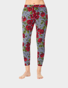 GIRL POWER BRUSHED TERRY JOGGER ROSE