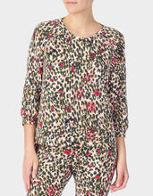 GIRL POWER BRUSHED TERRY TOP CAMOUFLAGE - APPAREL - Betsey Johnson