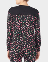 GLAMOROUS LIFE MARSHMALLOW TOP FLORAL - APPAREL - Betsey Johnson