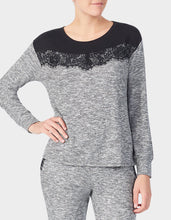 GLAMOROUS LIFE MARSHMALLOW TOP GREY - APPAREL - Betsey Johnson