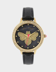 GLITTERING GOODNESS WATCH BLACK