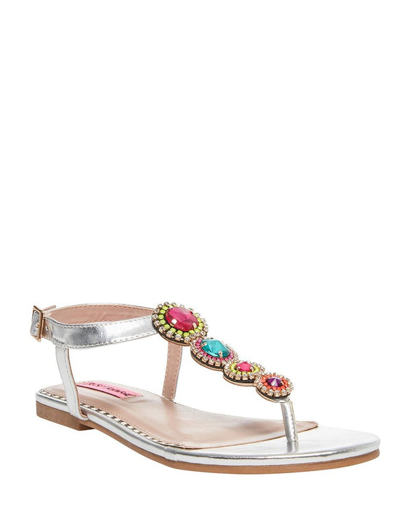 GLOWW SILVER - SHOES - Betsey Johnson